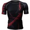 Btoperform Song of Sword Black Full Graphic Compression Short Sleeves Shirts FX-316K