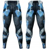 Btoperform Golden Army - Blue Full Graphic Compression Leggings FY-131B