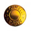 Cinelli Milano Anodized Handlebar Plugs - Gold