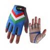 Havik 311 Flag Italia Blue Half Finger Cycling Gloves