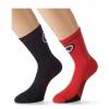 Assos EquipeSock evo7 Cycling Socks Red