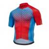 Mavic Crossmax Elite Jersey - Dresden Blue/Fiery Red