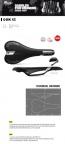 Selle Italia Qbik XC Flow Bicycle Seat Saddle Black Silver