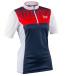Race Face Diy Womens Jersey Short Sleeve Navy-Flame