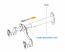 Ibera IB-ST4 Adjustable Bicycle Wall Hanger