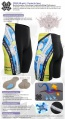 Fixgear Bicycle Tight Shorts Cycling Silica Gel Padded ST19B