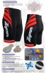 Fixgear Bicycle Tight Shorts Cycling Silica Gel Padded ST36