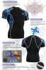 Fixgear Printed BaseLayer Compression Skin Top Tights Short Sleeves Shirts C2S B1