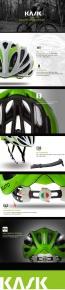 Kask Mojito Helmetb Anthracite Aqua