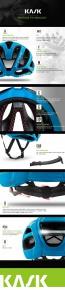 Kask Protone Helmet Black Light Blue