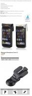 Ibera IB-PB16 Plus Q4 Waterproof Phone Case 4.5-5 Inch White