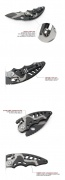 Titan SR21 Folding Knife Outdoor Camping