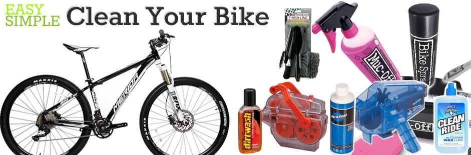 Cleaning Your bike